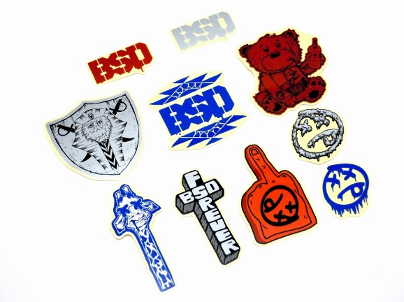 BSD stickers pack 01