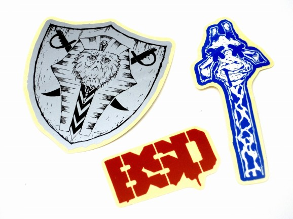 BSD stickers pack 02